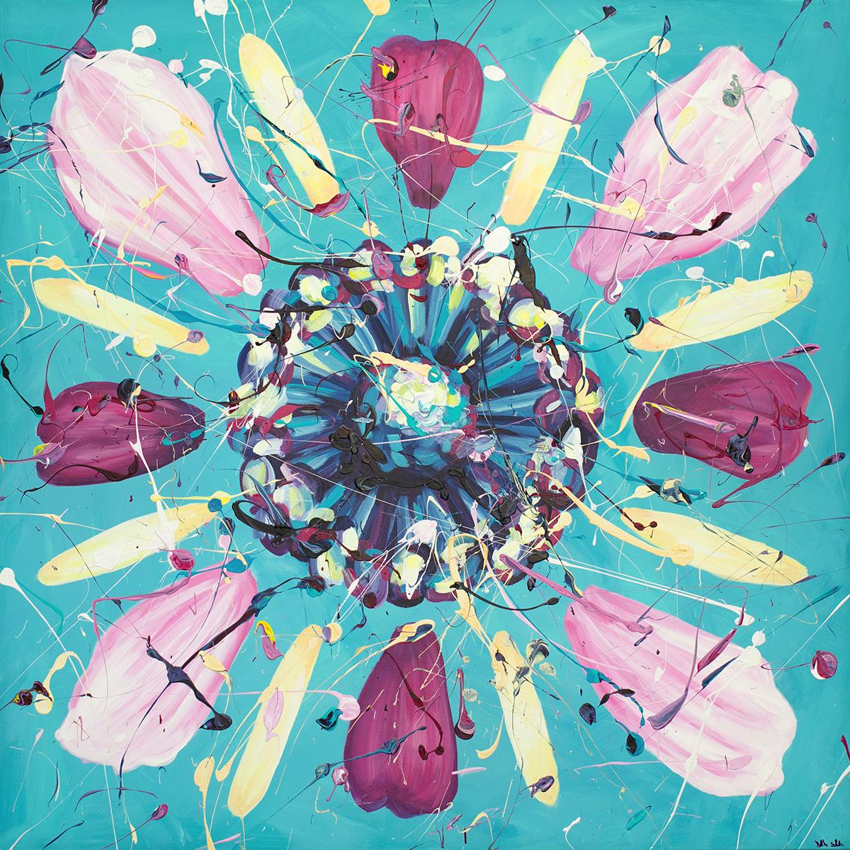 Flower PUZZLE von Bella Schick